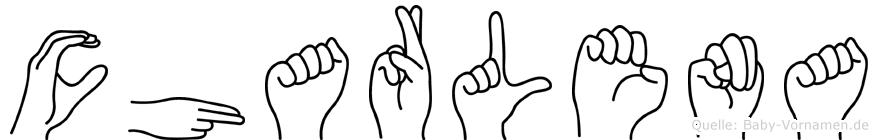 Charlena in Fingersprache für Gehörlose