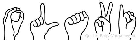 Olavi in Fingersprache für Gehörlose