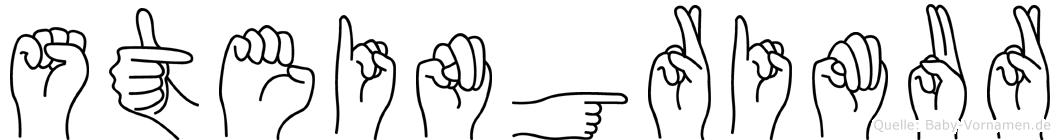 Steingrimur in Fingersprache für Gehörlose