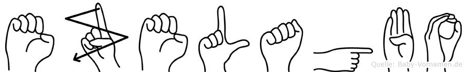 Ezelagbo in Fingersprache für Gehörlose