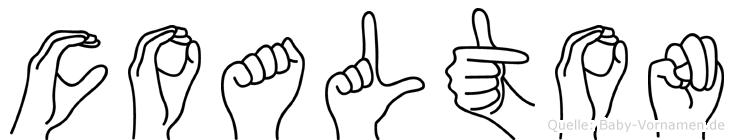 Coalton in Fingersprache für Gehörlose