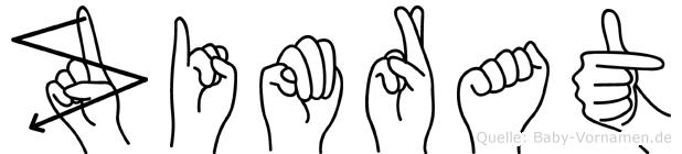 Zimrat in Fingersprache für Gehörlose