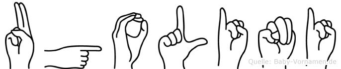 Ugolini in Fingersprache für Gehörlose