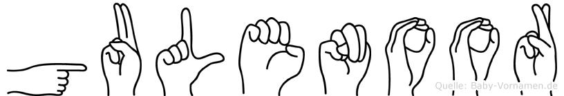 Gulenoor in Fingersprache für Gehörlose