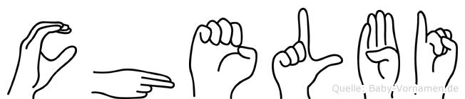 Chelbi in Fingersprache für Gehörlose