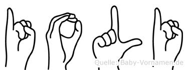 Ioli in Fingersprache für Gehörlose