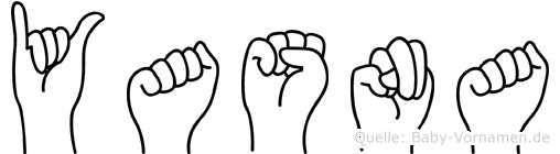 Yasna in Fingersprache für Gehörlose