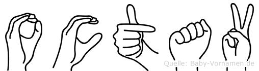 Octav in Fingersprache für Gehörlose