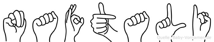 Naftali in Fingersprache für Gehörlose