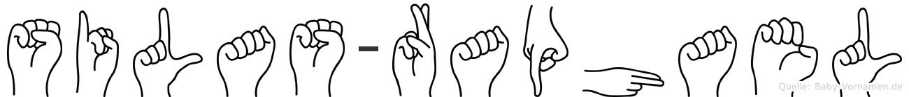 Silas-Raphael im Fingeralphabet der Deutschen Gebärdensprache