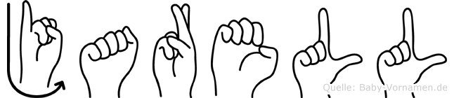 Jarell im Fingeralphabet der Deutschen Gebärdensprache
