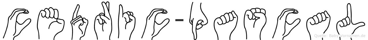 Cedric-Pascal im Fingeralphabet der Deutschen Gebärdensprache