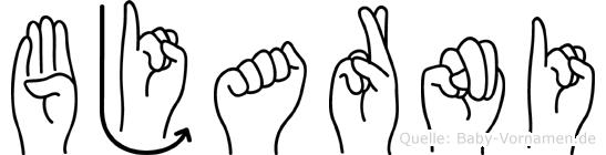 Bjarni in Fingersprache für Gehörlose