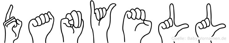 Danyell in Fingersprache für Gehörlose