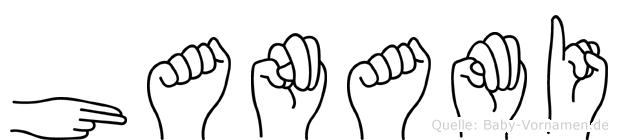 Hanami in Fingersprache für Gehörlose