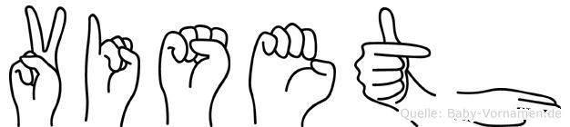 Viseth in Fingersprache für Gehörlose
