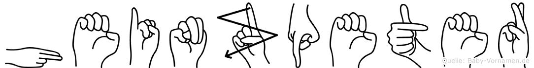 Heinzpeter in Fingersprache für Gehörlose