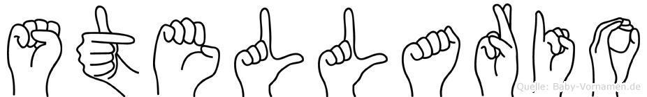 Stellario in Fingersprache für Gehörlose