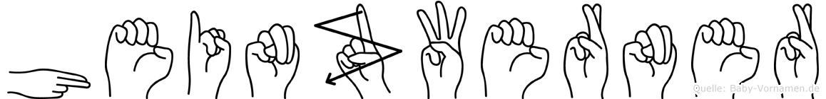 Heinzwerner in Fingersprache für Gehörlose