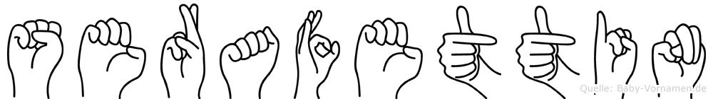Serafettin in Fingersprache für Gehörlose