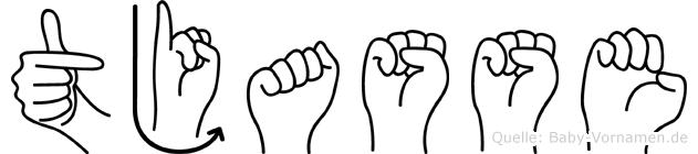 Tjasse in Fingersprache für Gehörlose