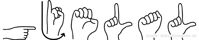 Gjelal in Fingersprache für Gehörlose