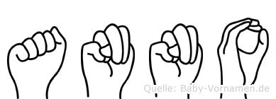 Anno in Fingersprache für Gehörlose