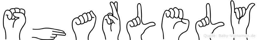 Sharlely in Fingersprache für Gehörlose