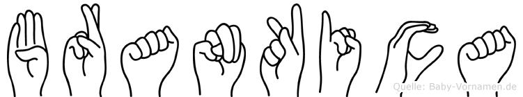 Brankica in Fingersprache für Gehörlose