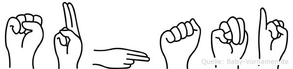 Suhani in Fingersprache für Gehörlose