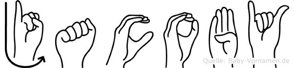 Jacoby in Fingersprache für Gehörlose