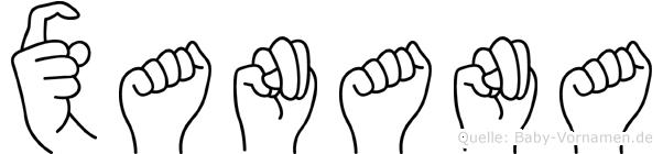 Xanana in Fingersprache für Gehörlose