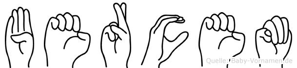 Bercem in Fingersprache für Gehörlose