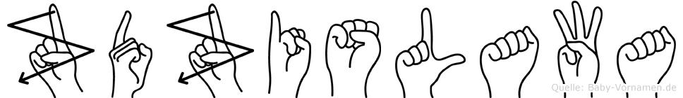 Zdzislawa in Fingersprache für Gehörlose