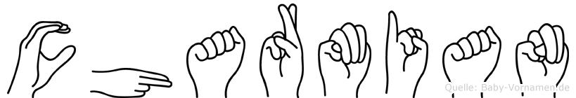 Charmian in Fingersprache für Gehörlose