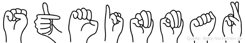 Steinmar in Fingersprache für Gehörlose