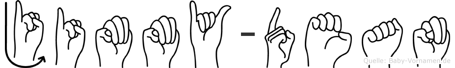 Jimmy-Dean im Fingeralphabet der Deutschen Gebärdensprache