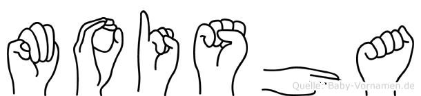 Moisha in Fingersprache für Gehörlose