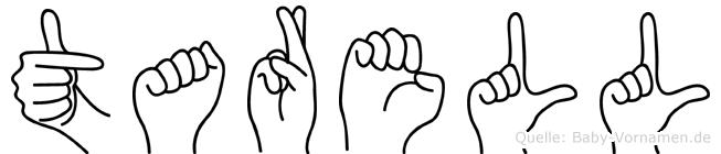 Tarell in Fingersprache f�r Geh�rlose