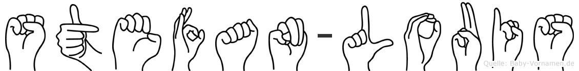 Stefan-Louis im Fingeralphabet der Deutschen Gebärdensprache