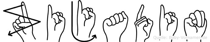Zijadin in Fingersprache für Gehörlose