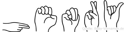 Henry in Fingersprache für Gehörlose