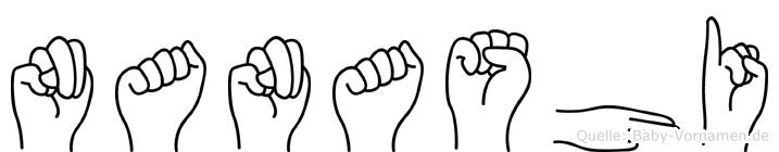 Nanashi in Fingersprache für Gehörlose