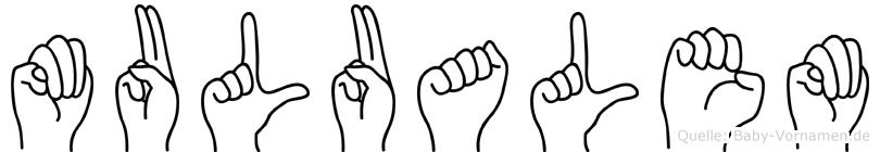 Mulualem in Fingersprache für Gehörlose