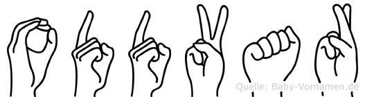 Oddvar in Fingersprache für Gehörlose