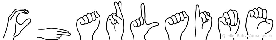 Charlaine in Fingersprache für Gehörlose