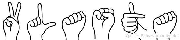 Vlasta in Fingersprache für Gehörlose
