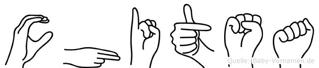 Chitsa in Fingersprache für Gehörlose