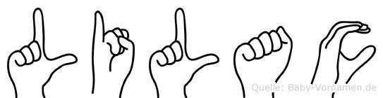 Lilac in Fingersprache für Gehörlose