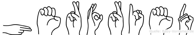 Herfried in Fingersprache für Gehörlose